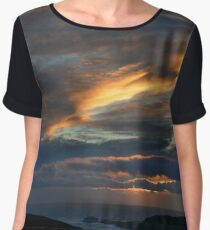 Pastel skies - photography Women's Chiffon Top