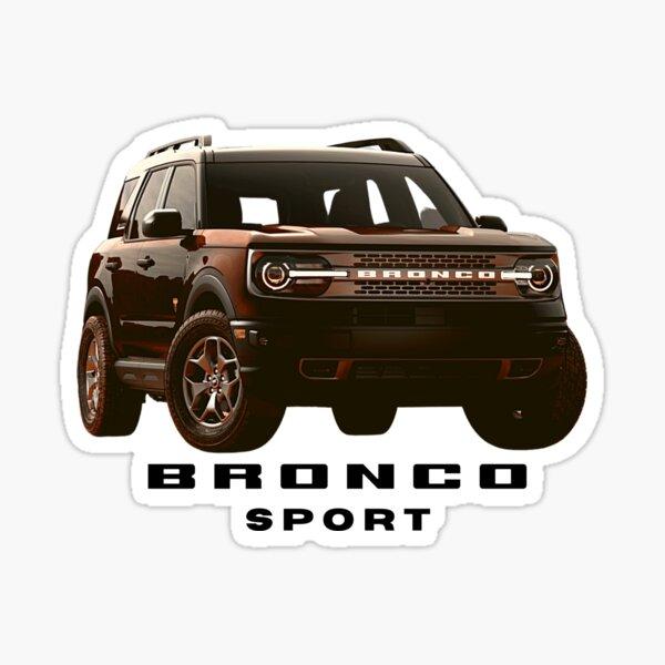 Ford Bronco Sport - Brown Sticker