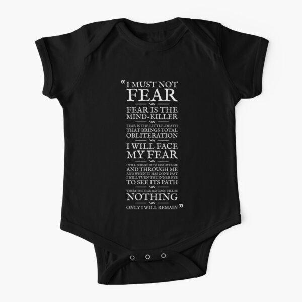 Litanei gegen Angst Baby Body Kurzarm