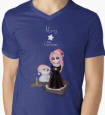 Black Xmas: A Merry Gothic Christmas Mens V-Neck T-Shirt