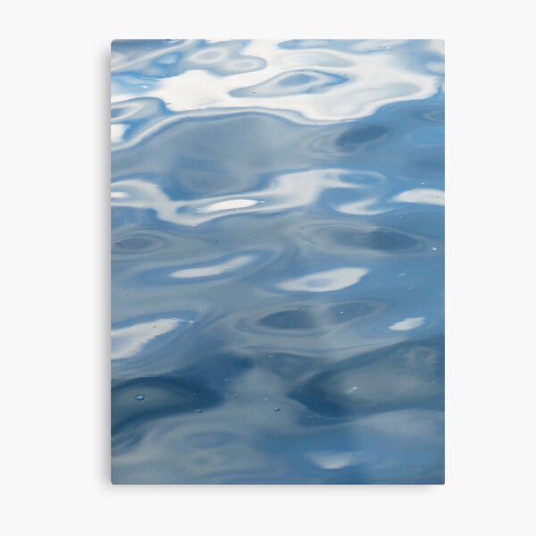 Sandusky Bay Abstract Lámina metálica