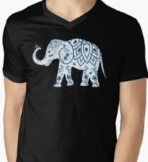 Decorated Elephant With Butterfly T-Shirt
