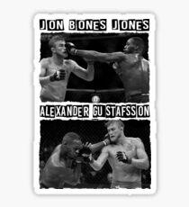 Jon Jones Vs Alexander Gustafsson Sticker