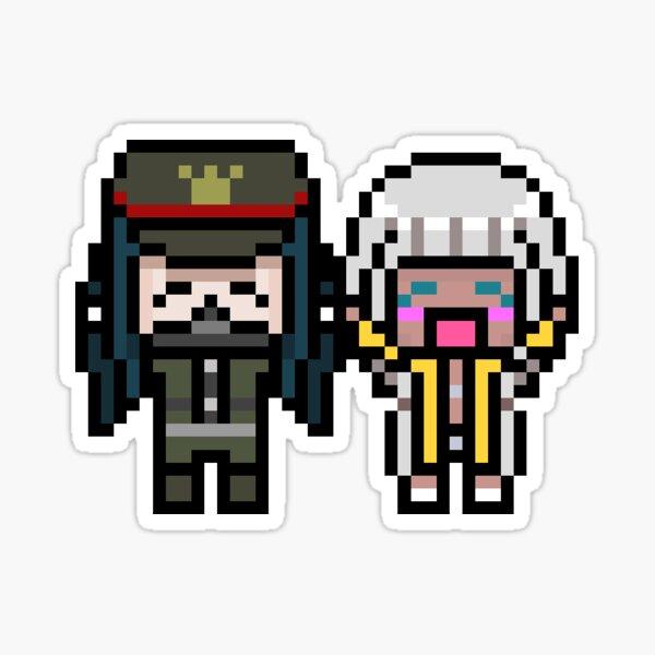 Shinnaga Pixels Sticker