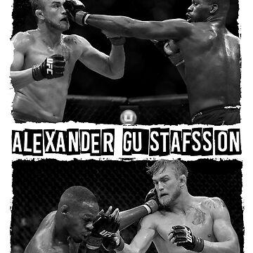 Jon Jones Vs Alexander Gustafsson by Wrong-Unz