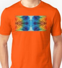 Colorful Abstract Art Pattern - Color Wheels - By Sharon Cummings Unisex T-Shirt