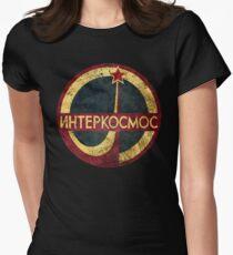 CCCP Interkosmos V02 Tailliertes T-Shirt