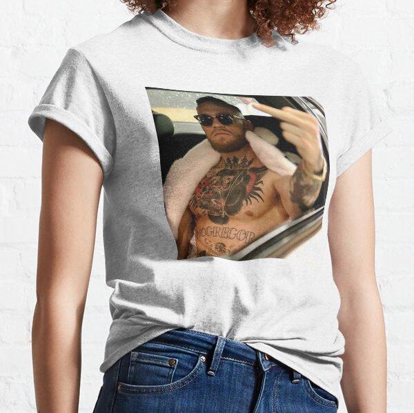 Conor McGregor Mittelfinger - The Notorious (Farbversion) Classic T-Shirt