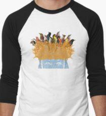 Bird nest head Men's Baseball ¾ T-Shirt