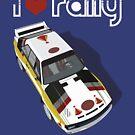 I love rally Audi Quattro  by beukenoot666