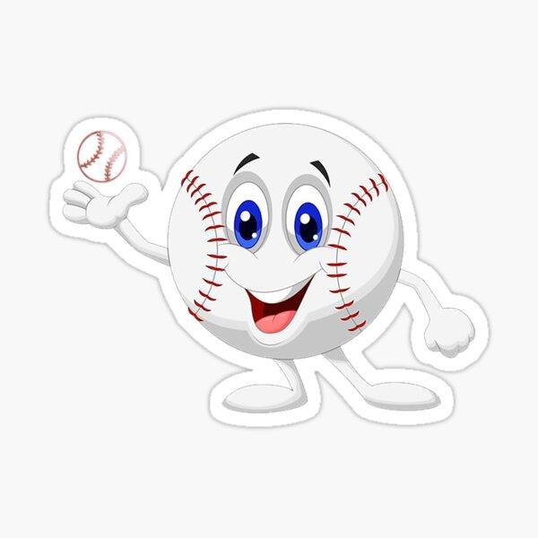 Let's play baseball Sticker