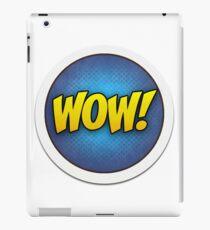 WORD FX - WOW! iPad Case/Skin