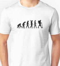 Evolution Hiking Unisex T-Shirt