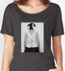 Mysterious Vintage Woman in Corset Women's Relaxed Fit T-Shirt