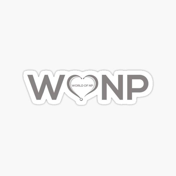 World Of Nurse Practitioners Sticker