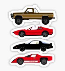 The Car's The Star: Glen A Larson Sticker