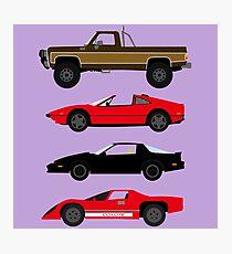 The Car's The Star: Glen A Larson Photographic Print