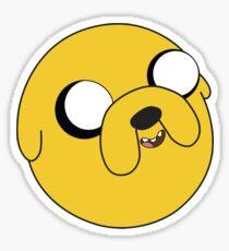 adventure time Jake the dog cartoon Sticker