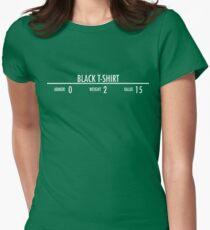 Black t-shirt Womens Fitted T-Shirt