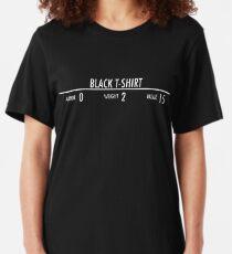 Black t-shirt Slim Fit T-Shirt