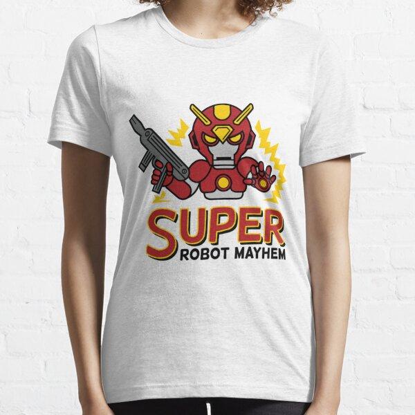 Super Robot Mayhem Red Auy Essential T-Shirt