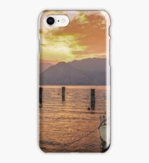 Malcesine Sunset iPhone Case/Skin