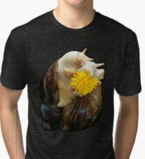 Dandelion Snails Tri-blend T-Shirt