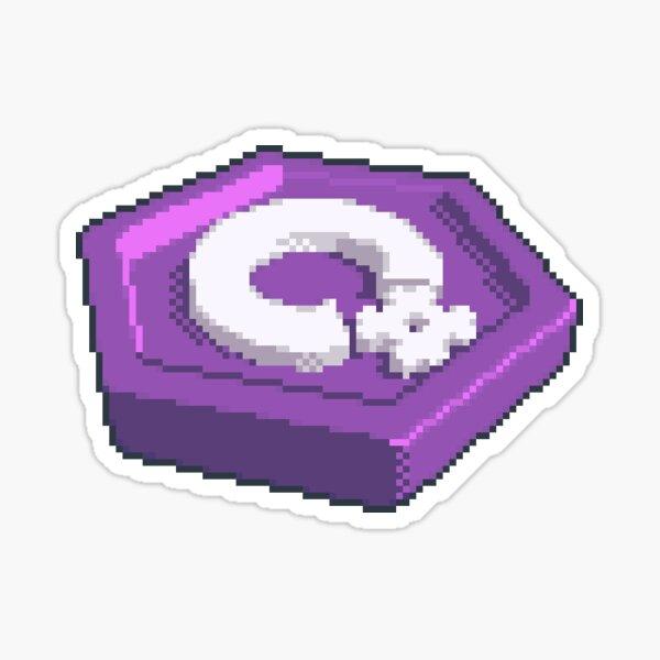 C# Pixel Art Medallion Sticker