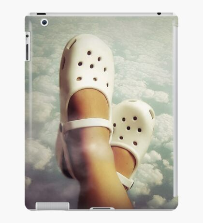 Living in the clouds  iPad Case/Skin