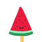 Summer watermelon popsicle by rocioalb