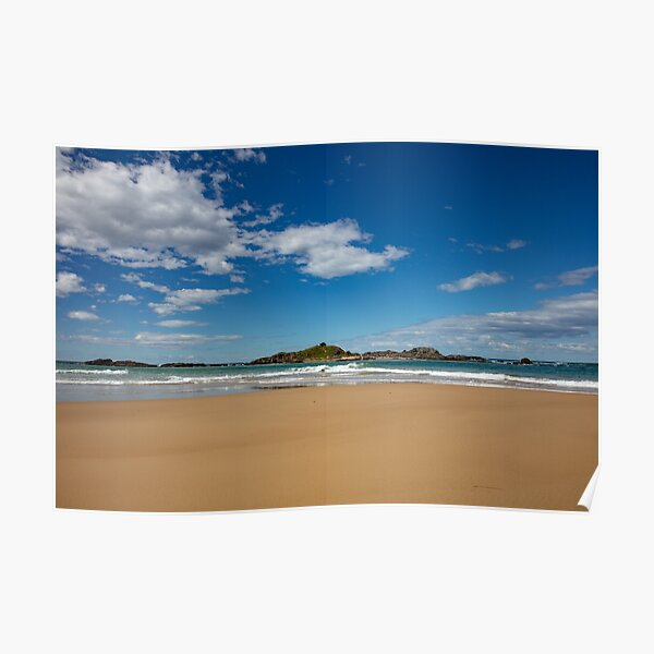 Another glorious day on Sawtell Beach Poster