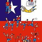 World Cup CHILE 2014 by colortown