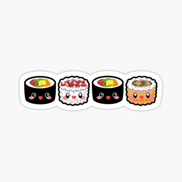 Love Sushi Stickers Redbubble