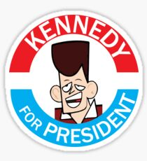 Vote for JFK Sticker