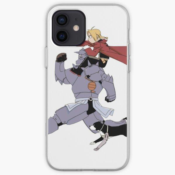 Anime Alchmist entièrement en métal Coque souple iPhone