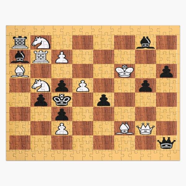 #chessproblem #chess #problem #playchess chesspiece chessset chessmaster chinesechess Jigsaw Puzzle