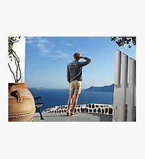 Greek paradise Photographic Print