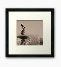 Angel of Central Park NYC Framed Print