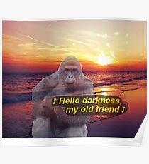 Harambe the Gorilla Poster