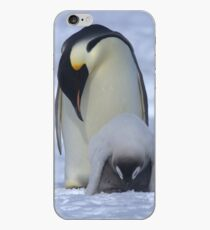 Emperor Penguin and Chick iPhone Case