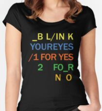 Radiohead BODYSNATCHERS Women's Fitted Scoop T-Shirt