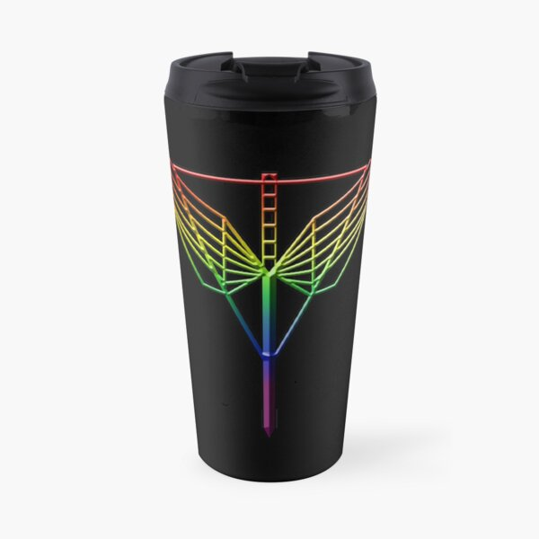 The Angel's Shield Symbol Pride Travel Mug