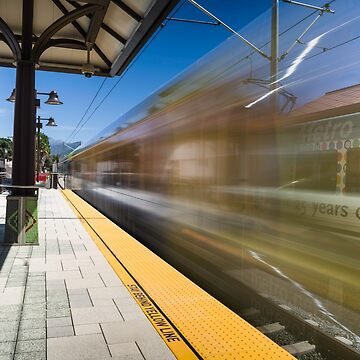Azusa Downtown Metro Station by MCHerdering