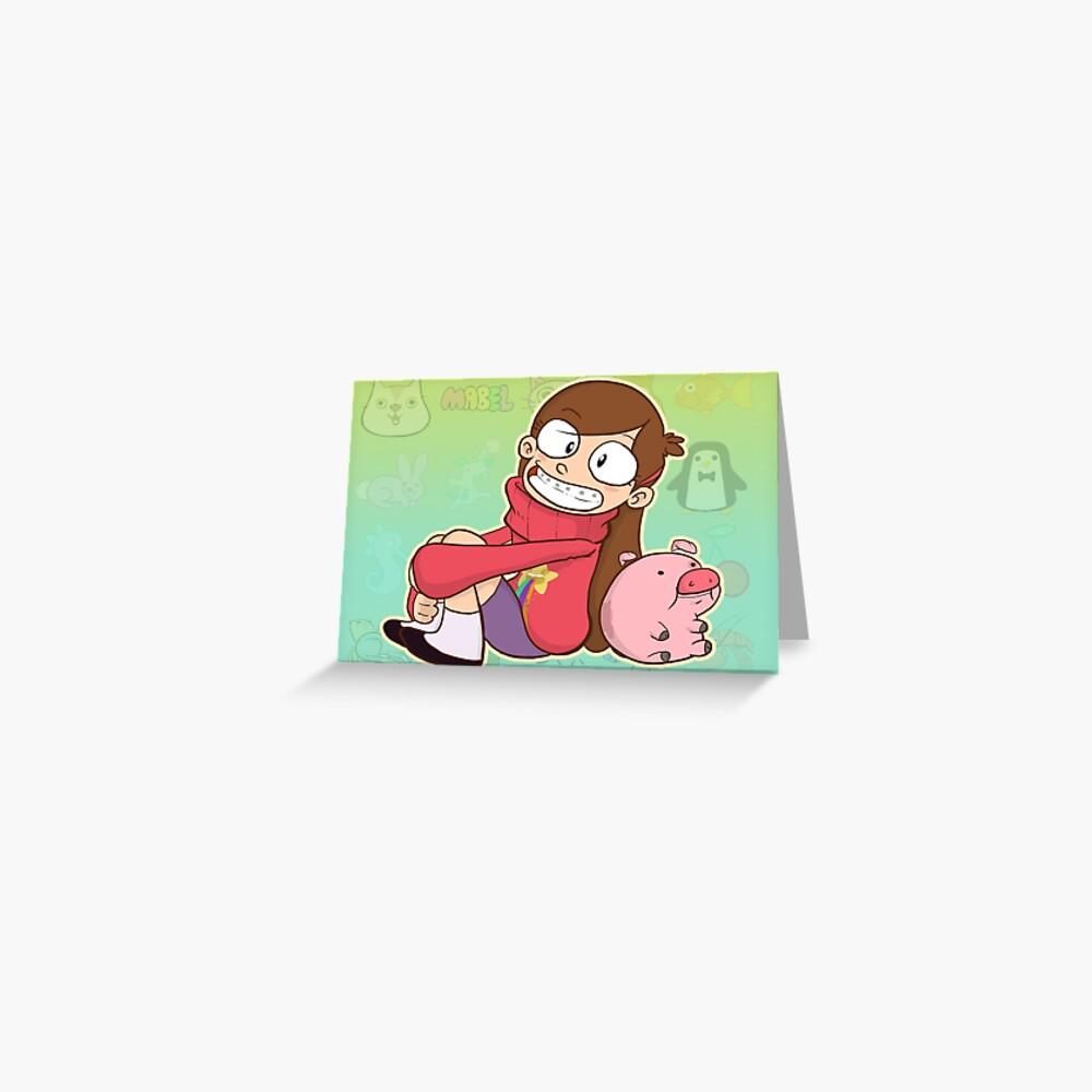 Mabel Pines Greeting Card