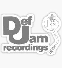 Def Jam Classic Sticker