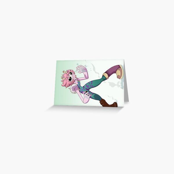 Mina Ashido  Greeting Card