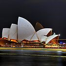 Sydney Opera House at night by andreisky