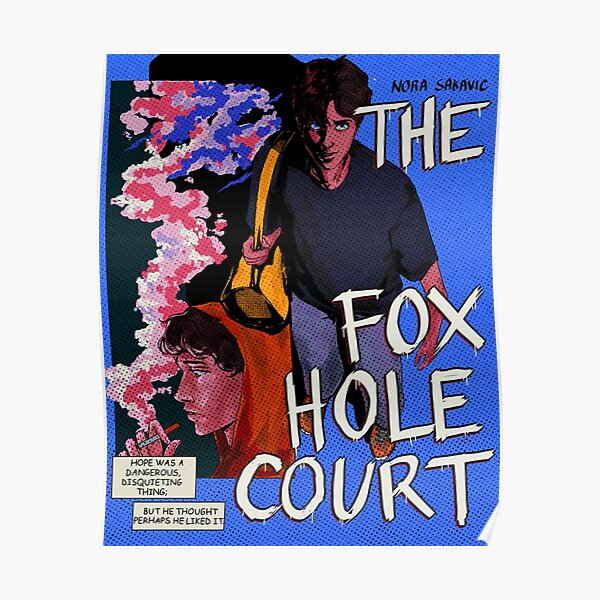 the foxhole court cover redesign Poster