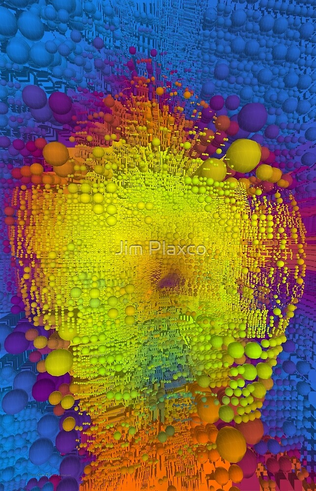 Android Vision Generative Algorithmic Art by Jim Plaxco