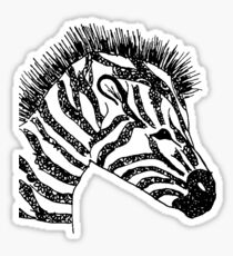 zebra Sticker